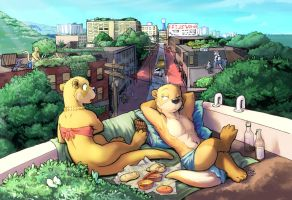 INA Rooftop Gardens by RickGriffin