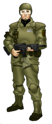 Sergeant Smith by MedronPryde