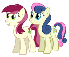 Roseluck and Bonbon by Tardifice