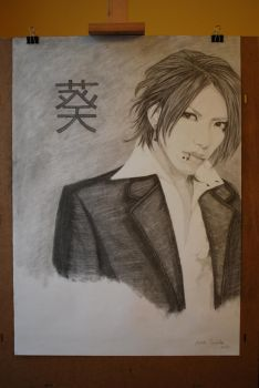 Aoi from The GazettE by Laureina