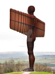 Angel of the North by LuntPhotography
