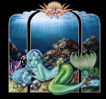 The Covetous Pisces colored by fer-V