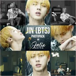 JIN (BTS) - Epiphany PHOTOPACK by JuliaEdits