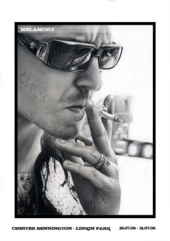 Chester Bennington 3 by FairyARTos