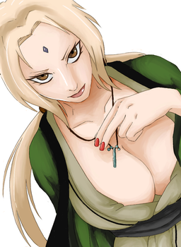 Tsunade-sama - collaboration by tehKirke