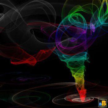 Twister Fractal PS Brushes by brightworld
