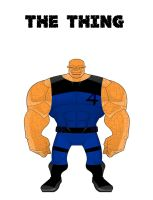 The Thing (Alternate Design) by Eye-of-Ra-X