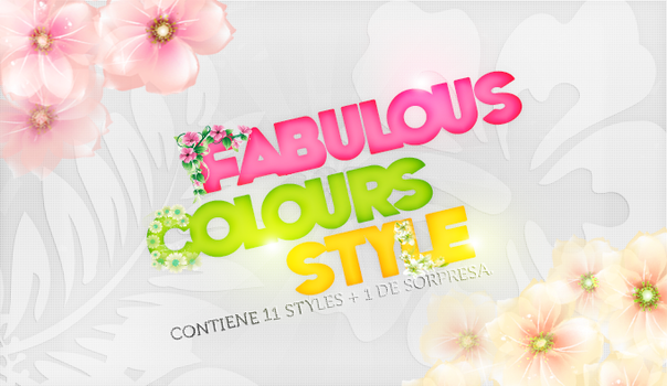 +NEW STYLES by FabulousColours