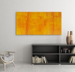 Vanguard - Original Abstract Acrylic Painting by Acrolyth