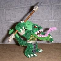 Lizardman Mini with Spear by the-gil-monster