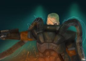 Solidus Snake by spsimpson
