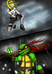 Bloodteaser - TMNT Comic Chapter 3 Page2 by LadyCreative