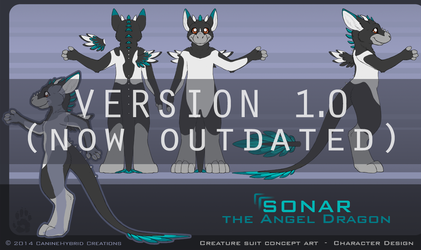 Sonar- Creature Suit Design [Outdated] by CanineHybrid