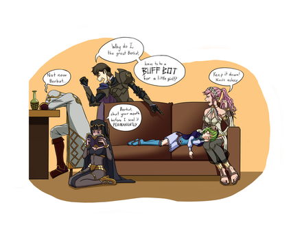 Tempest Trials Downtime by Grazyfish
