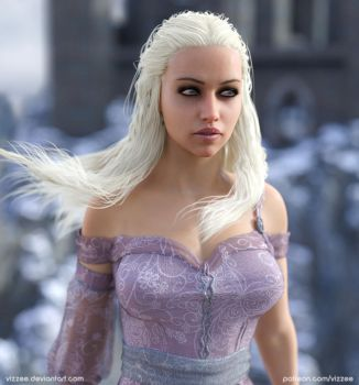 Daenerys Targaryen ( Game Of Thrones ) by Vizzee