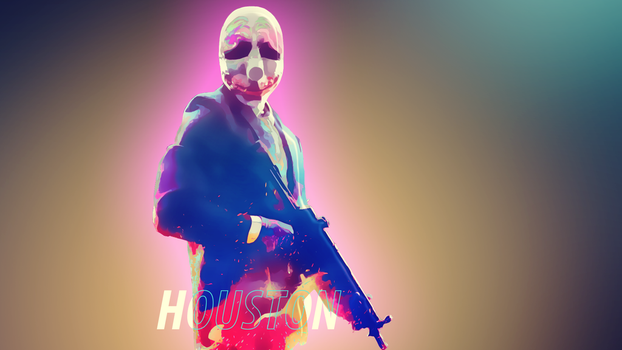 Payday 2 Houston Wallpaper (1920 x 1080) by Solar11pro