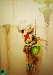 My Little Bastion by FoxInShadow