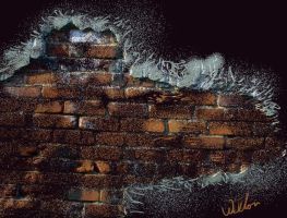 Exposed Brick by laughingtube