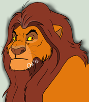 Old Mufasa by Chicocoray