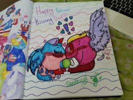 Happy National Kissing Day!!!~ by vivilong