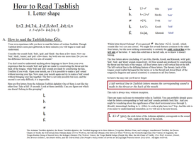 How to read Tasblish 01 by PearsonMoore2