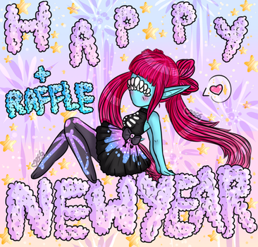 Happy New Years! + Raffle! CLOSED by ObsceneBarbie