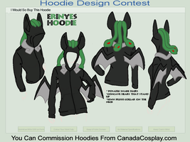 Hoodie Contest - Erinyes by KaylaTheDragoness
