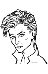 David Bowie by rone913