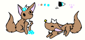 Another Sofie ref. by Forepaws1