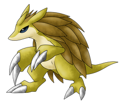 DA Pokemon Collaboration : Sandslash