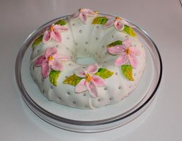 Mom's 62nd Birthday Cake by joanniegoulet