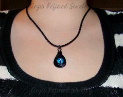Tears in Darkness Pendant by Toxic-Muffins-Studio