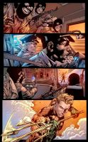 Aquaman Page by SiriusSteve