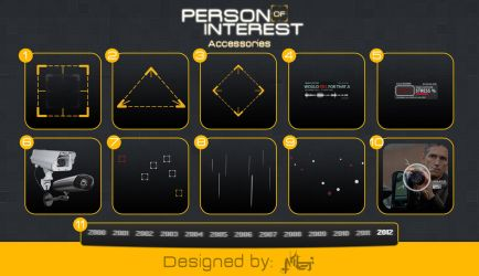 Person of Interest - Accessories  PSD by Ameer108