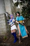 Fire Emblem 7 Lyndis and Florina Cosplay by neoqueenhoneybee