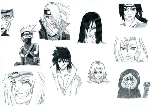 Shippuden Sketch by miss206