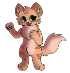 Anthro Kitty by MinoesTheKitty