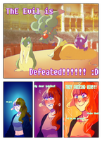 [PG]-Gimnasio- The evil is defeated! by Blue-trickster