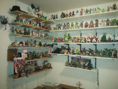 Where I Put All My Figures At 2 by Darkn355S1ay3r