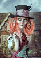 Lady Mad Hatter Df 2 by jiajenn