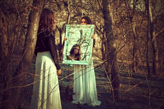 The Enchanted Mirror by iNeedChemicalX