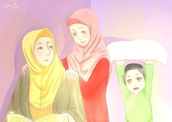 Light Of Happines by affiqahchan