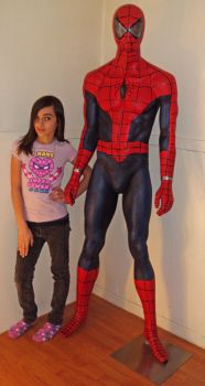 Life Size Spidey Spider-Man by Yourkillercustoms by YOURKILLERCUSTOMS
