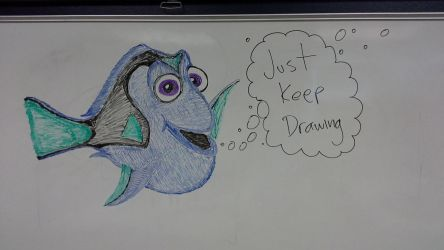 Just Keep Drawing by signothetymes