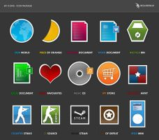 Icons - My Icons Preview by BeZaX
