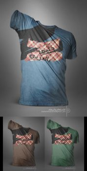 Keep_IT_ARABIC_T-SHIRT by BinMousa