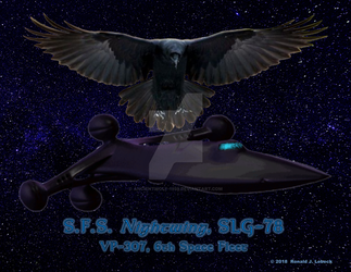 Nightwing - Ship Poster by AncientWolf-1959