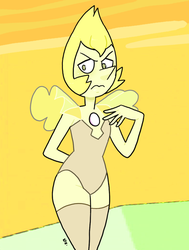 Steven Universe - Yellow Pearl 14 by theEyZmaster