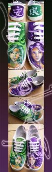 my shoes by LiuAnQi