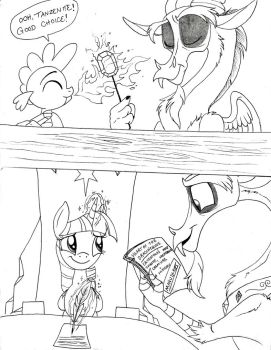 Heart of the Draconequus Page 244 by Celestial-Rainstorm
